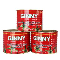 Pasta di pomodoro in scatola 2.2kg Brix 28-30% Salsa di pomodoro di alta qualità