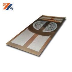 Pattern concebido em aço inoxidável da Porta do Elevador Fabricado na China Preço competitivo