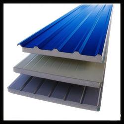 Laminado Venta caliente 50/75/100/150mm de espesor lana de roca y lana de vidrio /EPS paneles sándwich para el Sistema de Revestimiento de pared de metal