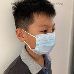 Fita hipoalergênica filhos médicos descartáveis de máscara tipo II de EN14683 ultra suaves em Japonês material importado