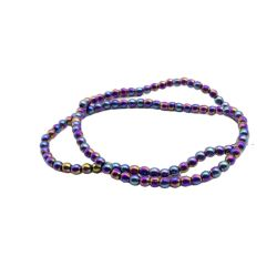 Естественного цвета Rondelles 2мм-12мм Hematite камня валики для DIY принятия решений