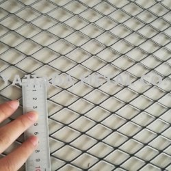Rete metallica ampliata, recinto di filo metallico