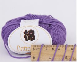 Bannière de filés de coton Crochet recyclé 100gr avec de multiples couleurs