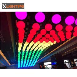 Illuminazione cinetica della sfera dell'argano LED di alta qualità DMX per il natale