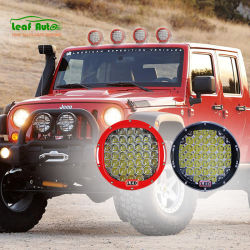 9-дюймовый светодиодный прожектор работы для внедорожных грузовиков внедорожники УАЗ ATV 12V Auto светодиод противотуманная лампа 185 Вт Светодиодные лампы вождения автомобиля
