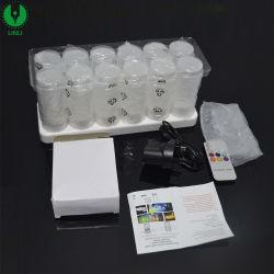 Nuevo diseño de la llegada de la luz de velas de té Mini LED, LED luz de velas con mando a distancia