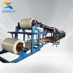 Fabricação Xinnuo EPS e lã de rocha painel sanduíche Z bloquear o painel do teto da linha de produção