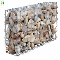 El control de inundaciones Muro reforzado de tierra reforzada de acero soldadas de malla Gabion Jaula de malla de alambre soldado de la jaula de malla de paisaje del Parque de la malla Gabion