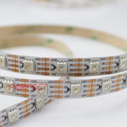 DC5V 5m ws2812b ws2813 tira de pixel de leds LEDs 30/60/M endereçáveis individualmente programáveis Smart RGB LED de cores de luz de faixa