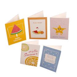 주문 Handmade 아기 가득 차있는 달 생일 권유 카드 출생 권유 환영받은 아기 카드
