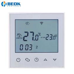 Het Verwarmen van de Zaal van het Controlemechanisme van de Temperatuur van het grote Scherm Slimme ElektroThermostaat