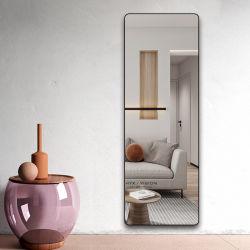 Espelho de vestir dupla utilização de pendurar na parede e o piso com suporte