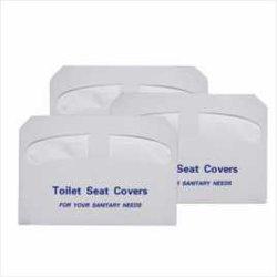 Halve Vouwen 1/2 Document van de Dekking van de Zetel van het Toilet Biologisch afbreekbare Flushable. 250/Pack, 20 Pakken