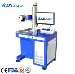 Fibra/CO2/UV CNC portáteis 50W Equipamento máquina de marcação a laser/logotipo máquina de impressão a laser CNC máquina de corte para Metal/Jóias/plástico/Cobre/Madeira/Gold com marcação CE