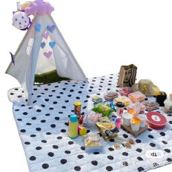 سجاد Camping Mat Fleece مع فرش بفرش نزهات للأطفال صديق للبيئة