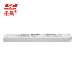 محرك بلاستيكي LED خطي بقوة 30 واط بجهد 12 فولت و200 فولت من التيار المتردد جهد مرتفع سعر إمداد الطاقة