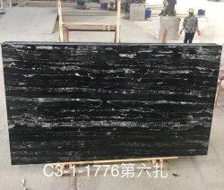 Dalles de pierre de marbre noir/carreaux pour Vanity/Comptoirs/PLANCHER/Wall House/Villa génie du bâtiment