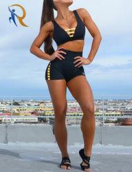 브래지어와 간결은 여자 궤도 한 벌 스포츠 숙녀 스포츠 착용 2 PCS 형식 2020년 의복을 Rtm-151 놓았다