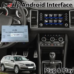 Android Навигация видео интерфейс для Skoda Karoq / Kodiaq / быстрое / Fabia / превосходное качество / Octavia Mqb Mib Mib2