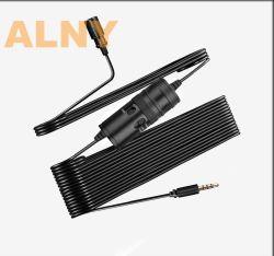 M1 de Draagbare Klem van de Revers van 3.5 mm Mini op Microfoon van de Condensator van de Microfoon van de Telefoon van de Microfoon Lavalier de Slimme