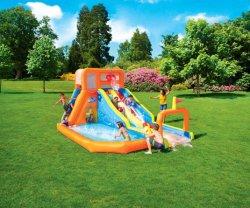5.05*3,40*2.65м Homeuse водными горками цены детский надувной горкой бассейн
