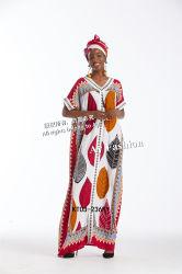 بالإضافة إلى الحجم الأفريقي الملابس القطنية النساء عالية الجودة وأقل السعر