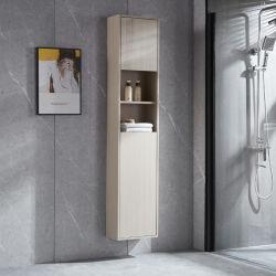 أثاث ذو ديكور جانبى من الخشب الصلب الحمام من الخشب الصلب الحمام من الخشب الصلب بحمّام خشبى خزانة بدون حوض استحمام