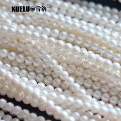 6-7 mm AAA ronda perfeita de boa qualidade verdadeira cultura de Água Fresca Pearl Material (XL180005)