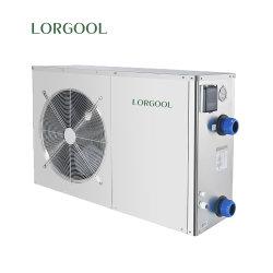 높은 Cop 낮은 소음 수준 R32 DC 인버터 에너지 효율 304 스테인리스 스틸 셸이 있는 수영장 히트 펌프