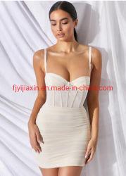 개인 상표 여름 붕대 섹시한 당 의복 여자 가운 주문 칵테일 아름다운 밤 복장을 고르는 새로운 디자인 작풍 숙녀 형식 옷