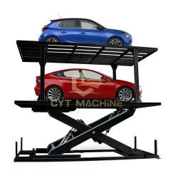 Op maat gemaakt hydraulisch platform voor het heffen van ondergrondse garageauto's met dubbel dek