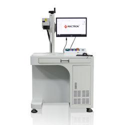 Tischplattenfarbe der faser-Optiklaser-Markierungengraver-Maschinen-30W