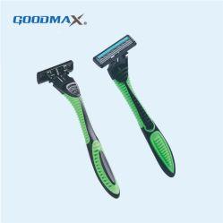 Triple lame de rasoir jetable une lame de rasoir (Nouveau package)
