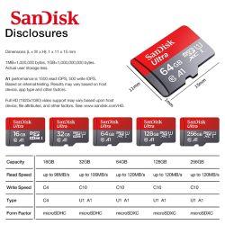100% Original ForsandISK Class 10 SD-Karte microSD TF-Karte 16 GB 32 GB 64 GB 128 GB MICRO SD Speicherkarte