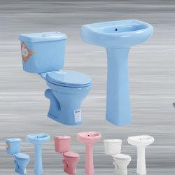 Wc africanos de dos piezas de lavado baño Precio barato Sanitaryware wc