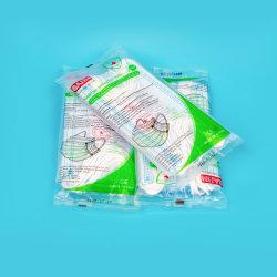 сертификат CE хирургические маски Китая таможенных белый и голубой список Saiin принадлежат некоторые заведения маску для лица с Earloop Non-Woven 3ply одноразовые медицинские маски непосредственно на заводе EN14683-2019
