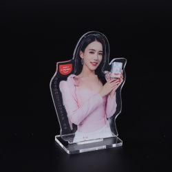 Bureau de l'acrylique cosmétique signe Photo publicitaire Stand pour le magasin