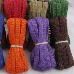 Hanf-Seil-Hersteller, die 17 das gesetzte kreative DIY Fertigkeit-Spinnen, alte Methoden des Hanf-Hanf-Seil-Farbband-Dekoration-Material-Hanf-Farbbands zurückstellend verkaufen
