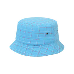 Adulto preto/branco da tampa da caçamba de impressão por transferência de calor100% poliéster chapéu de caçamba