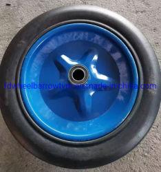 """14"""" на заводе из твердого каучука колеса для тележек, тележки, порошок резиновые колеса"""