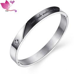 Yiwu usine Femmes Hommes Couple à bas prix de Bijoux en acier inoxydable Bracelet Bangle