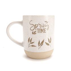 도매 16oz 양각 Gift Ceramic 커피 머그잔 세트