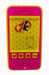 OEM 리테일 어린이 장난감 플라스틱 배터리 운영 전화 장난감 OEM 4가지 재미있는 사운드의 어린이용 사운드 폰 장난감 센덱스 4P