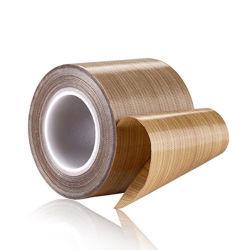 布の自己接着粘着テープPTFEの粘着テープファブリックPTFE上塗を施してあるガラス繊維