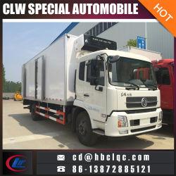 Behälter-LKW-Gefriermaschine-Auto der Fabrik-Verkaufs-4X2 170HP kaltes