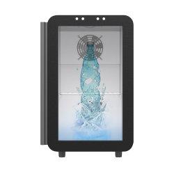 Прозрачный высшего качества ЖК-холодильник для пищевых продуктов и напитков