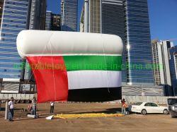 Gran Desfile de la publicidad Display flotante de PVC inflable columna Globo de helio