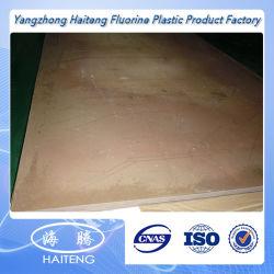 Высокотемпературный графит листа тефлона/лист углерода/бронзовых PTFE