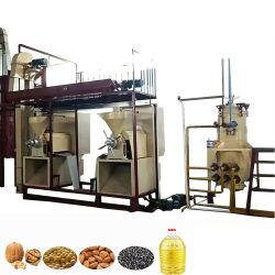 À petite échelle Raffinerie d'huile végétale comestible Machine à faire noir Huile de graines de citrouille d'amande de semences