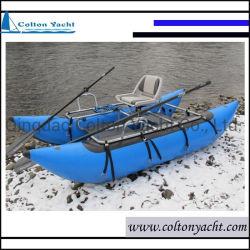 Tubo specifico di pesca della piccola di pesca barca del pontone